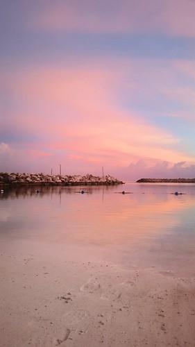 caribbean sunrise bliss