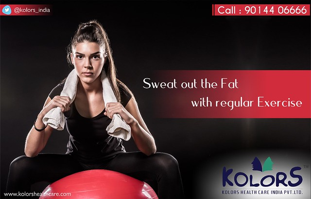 Sweat out the Fat with regular Exercise