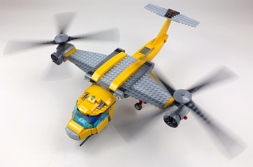 LEGO City Jungle 60162 Jungle Air Drop Helicopter 118