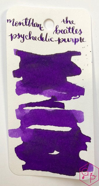 Ink Shot Review @Montblanc_World Great Characters The Beatles Psychedelic Purple @AppelboomLaren 4_RWM