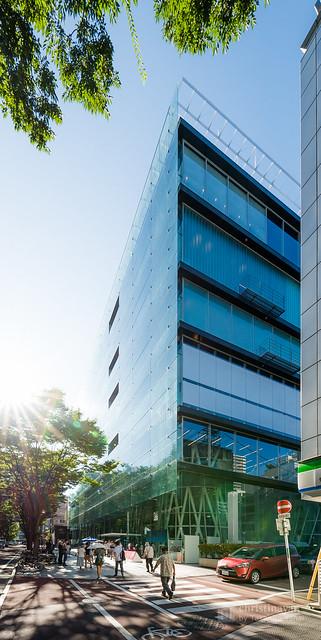 General view of Sendai Mediatheque (せんだいメディアテーク)