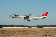 N807NW Northwest Airlines | Airbus A330-323 | Memphis International Airport
