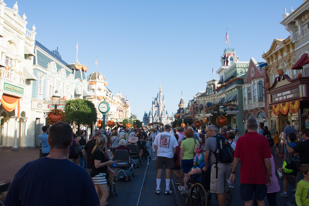 Main Street USA at Magic Kingdom