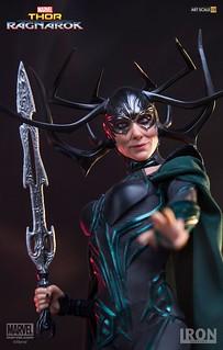 全都給我跪下! Iron Studios Battle Diorama 系列《雷神索爾3:諸神黃昏》海拉 Thor: Ragnarok Hela 1/10 比例決鬥場景作品