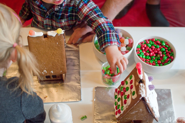 gingerbread house party 2017