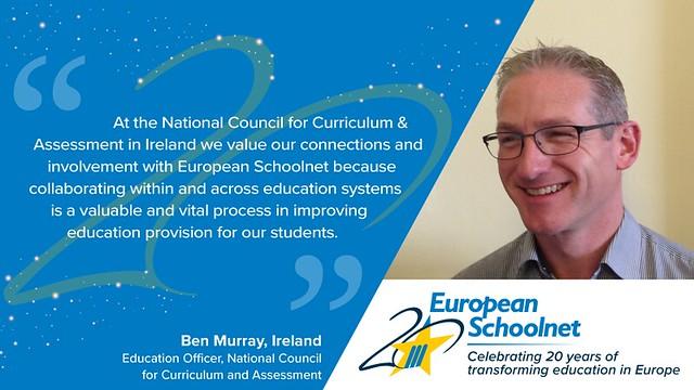 European Schoolnet 20th anniversary - Testimonials