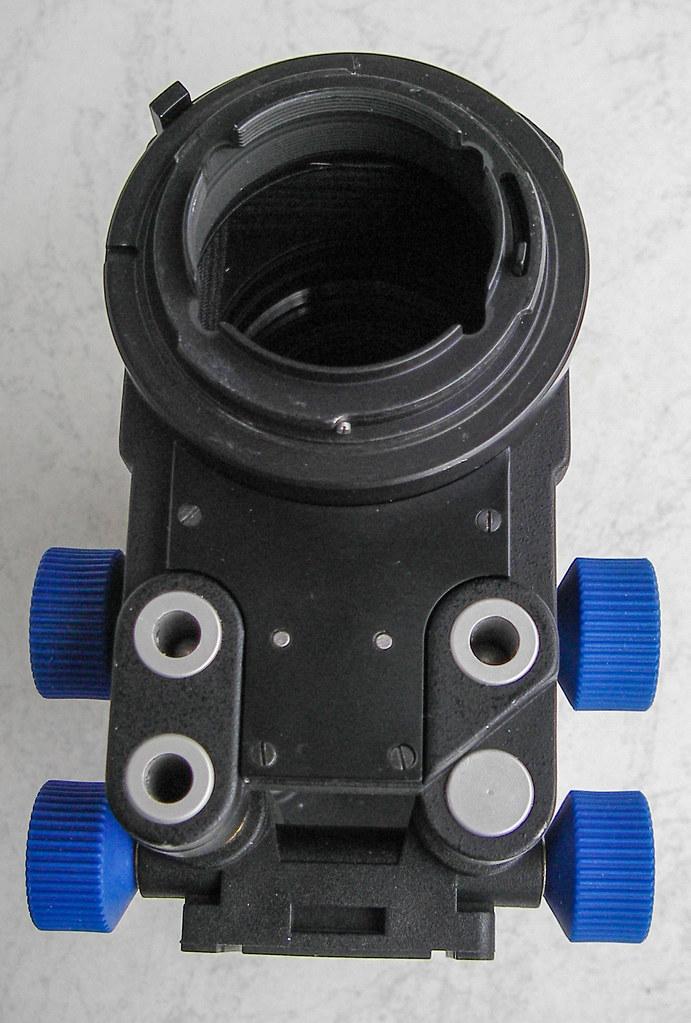 D90 und Balgengerät