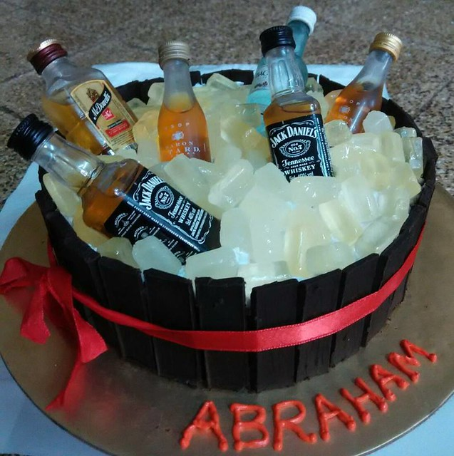 Barrel Cake by Purvi Champaneria