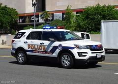 US Capitol Police - 2016 Ford Police Interceptor Utility K-9 unit (1)