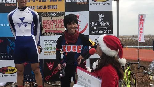 山本さんは初出場3位