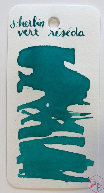 Ink Shot Review J. Herbin Vert Réséda @KnightsWritingC 1