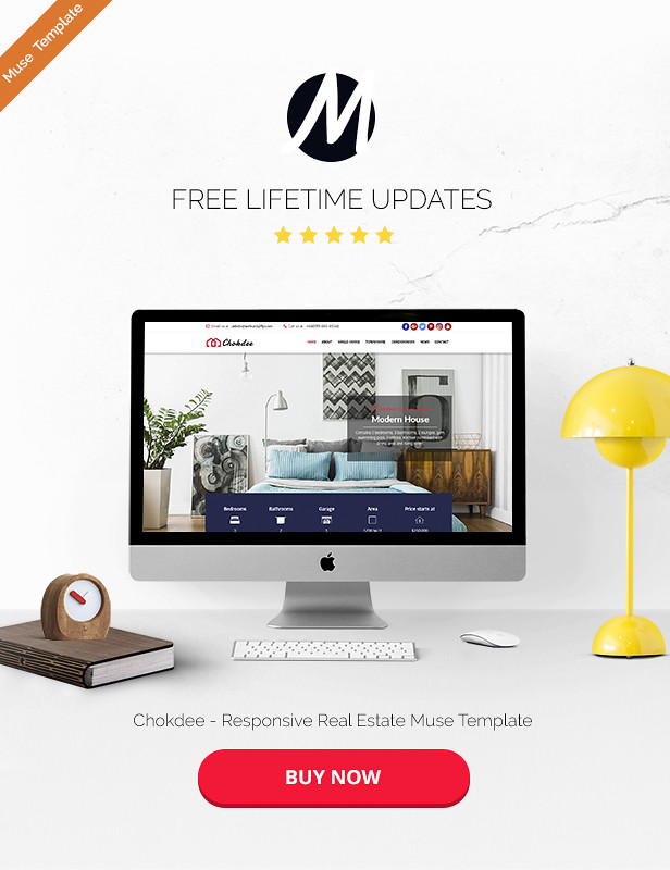 Chokdee - Responsive Real Estate Muse Template - 6
