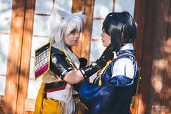Kogitsunemaru (小狐丸こぎつねまる) & Mikazuki Munechika (三日月宗近みかづきむねちか)
