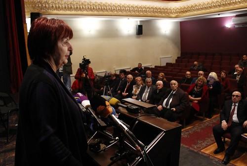 Հայաստանի ժուռնալիստների միության նախկին նախագահ Աստղիկ Գևորգյանը