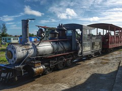 Cuban steam train