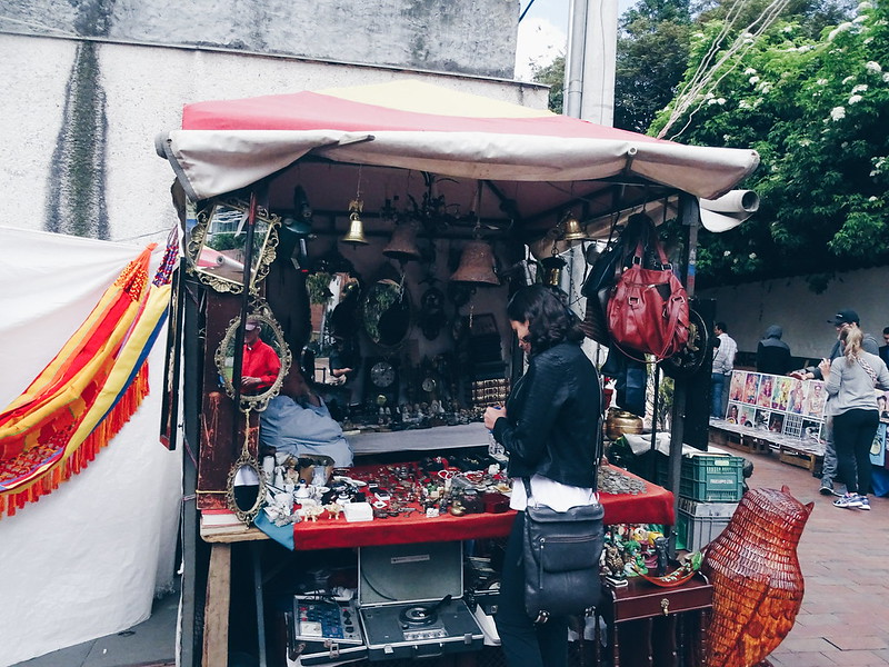 Mercado de las pulgas de Usaquén, Bogotá • COL
