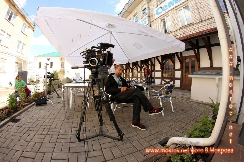 Рабочии момент Телесериала «Морозова» фотокамера