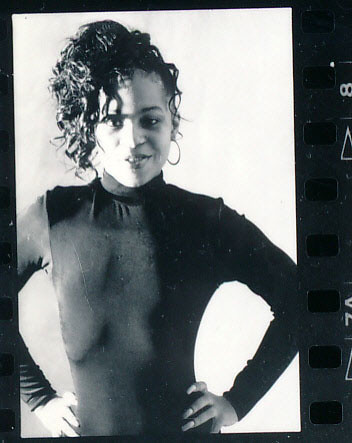 Lace Philadelphia Studio Photo Shoot Kodak TMY 35mm B&W Contact Sheet Proof Print Aug 1994 IMG_0003