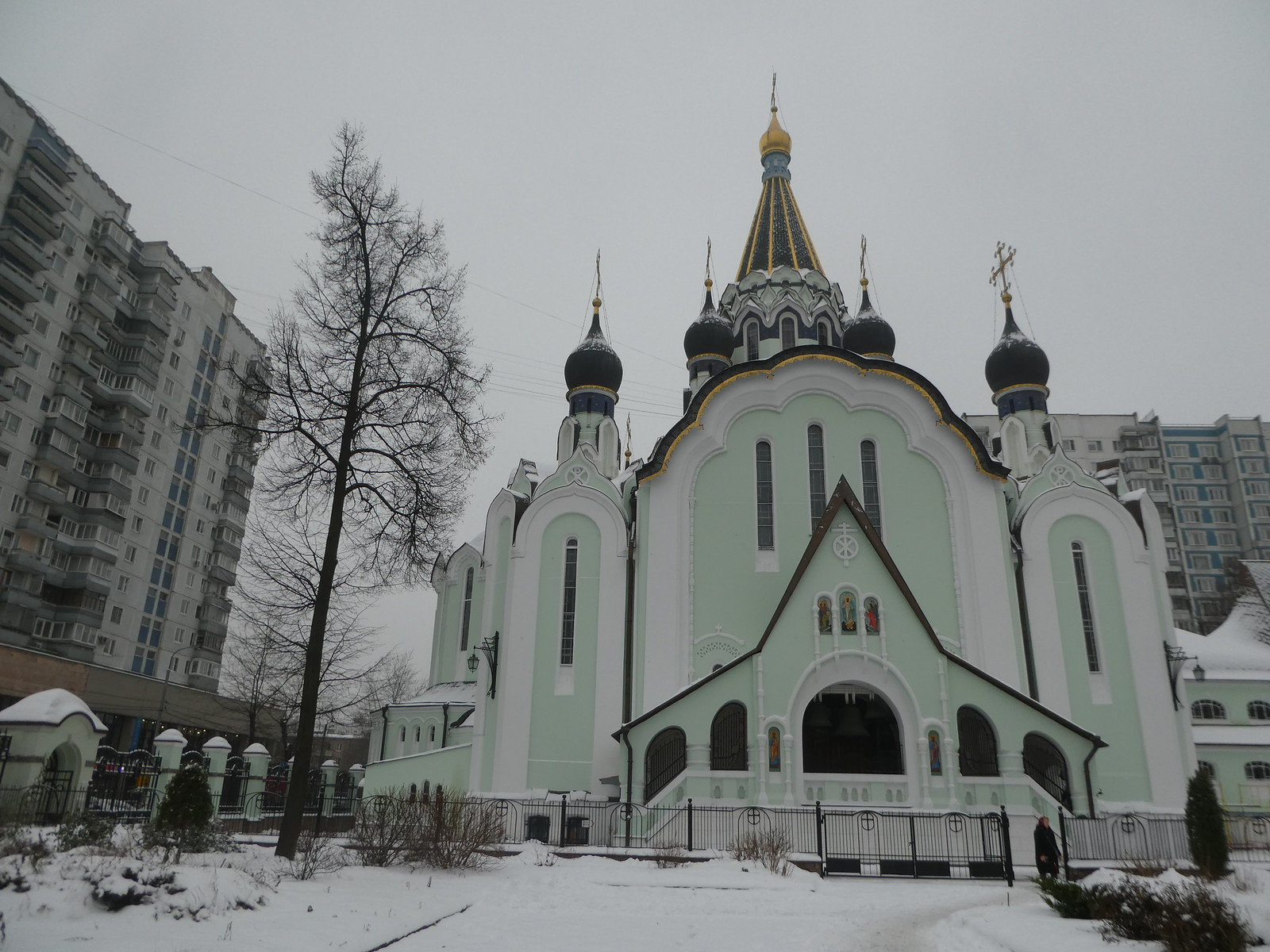 Church of the Resurrection, Sokolniki, Moscow
