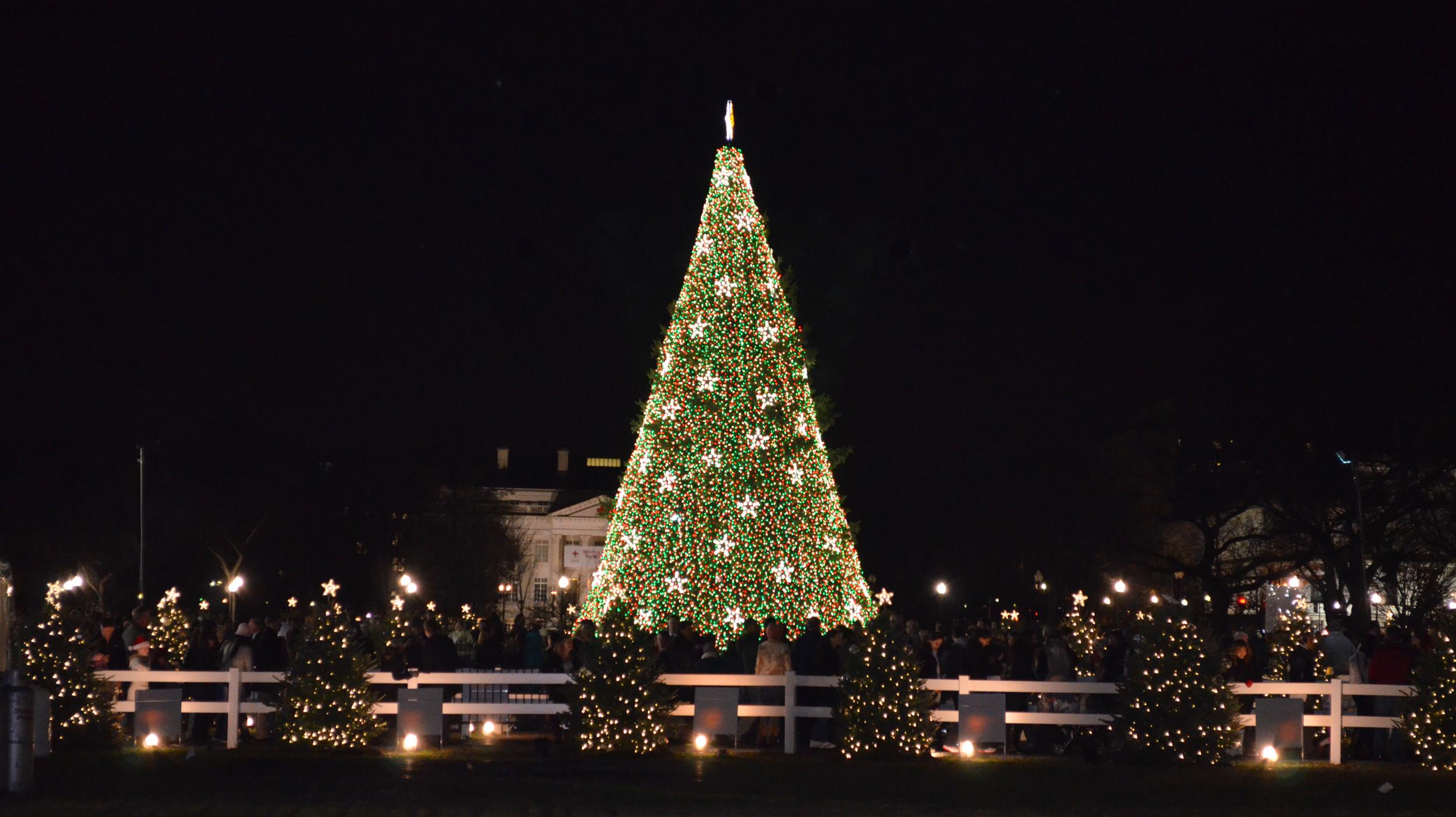 [url=https://flic.kr/p/22LpXP4][img]https://farm5.staticflickr.com/4726/39227650461_20d1cf22ec_o.jpg[/img][/url][url=https://flic.kr/p/22LpXP4]US_National_Christmas_Tree_2012[/url] by [url=https://www.flickr.com/photos/am-jochim/]Mark Jochim[/url], on Flickr