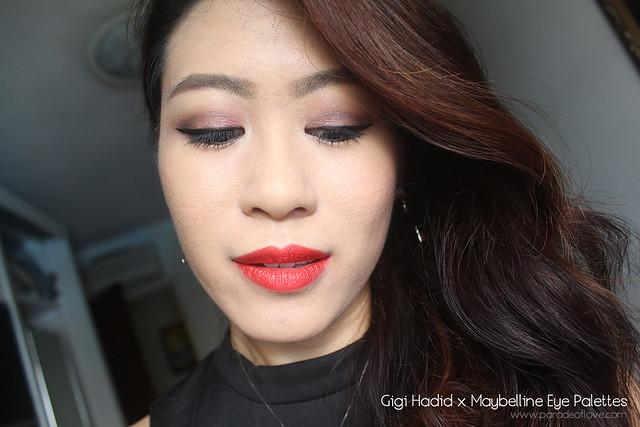Gigi Hadid x Maybelline Makeup Collection Makeup