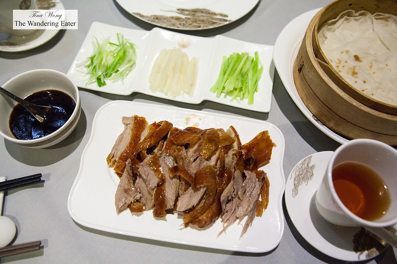 Half Peking Duck spread