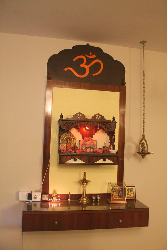 Pooja Stand Designs Chennai : An interior designer shares over pooja room mandir
