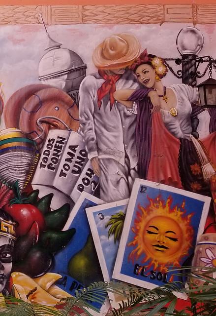 Mexico y Cuba Mural en La Habana 2017