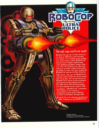 Robocop and the Ultra Police (Kenner) 1988-90 39330779001_f27ff4c866