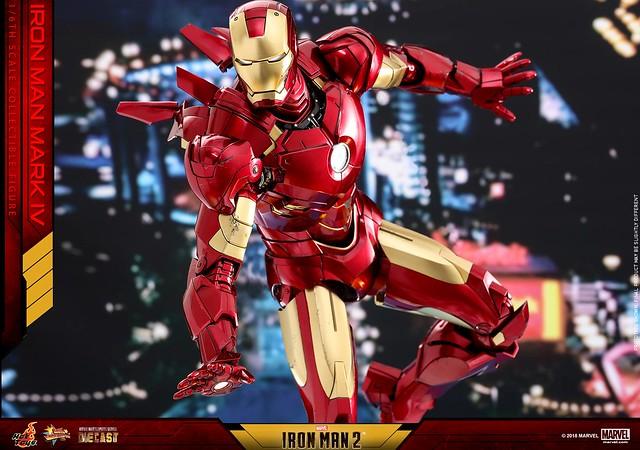 Hot Toys - MMS461D21 - 《鋼鐵人2》鋼鐵人馬克4 Iron Man 2 Mark IV 1/6 比例合金人偶作品