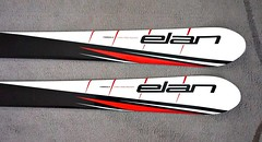 Nové dětské lyže Elan - 120 cm - titulní fotka
