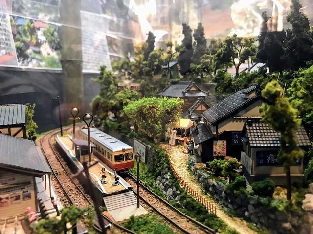 愛岐トンネル 模型