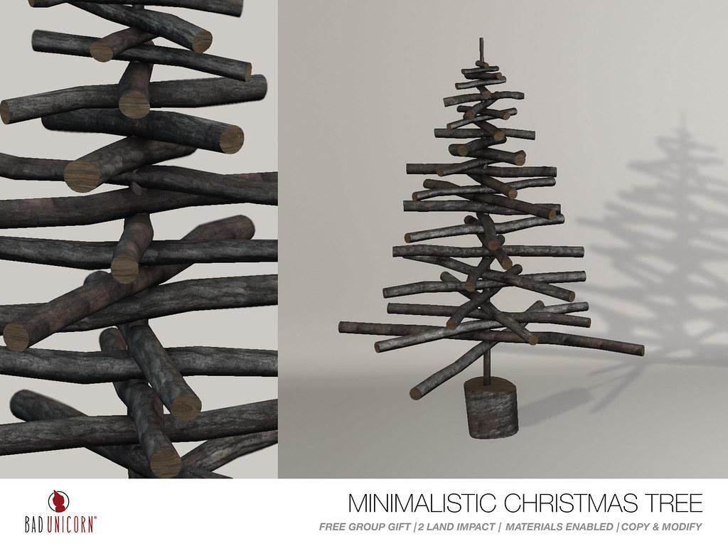 FREE GROUP GIFT! - Minimalistic Christmas Tree - TeleportHub.com Live!