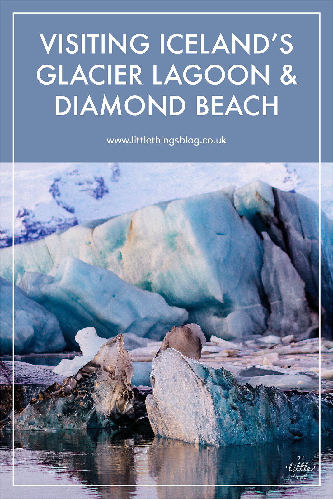 Visiting Iceland's Glacier Lagoon & Diamond Beach travel blogger UK
