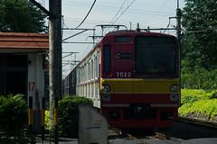 Tokyo Metro 7000 (7022);Yellow line;Stasiun Duren Kalibata