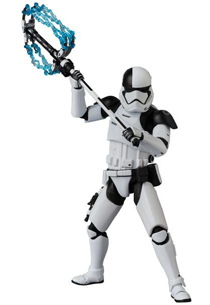 附屬電流配件看起來更具魄力!! MAFEX《STAR WARS:最後的絕地武士》第一軍團處刑者風暴兵 First Order Stormtrooper Executioner【日本地區限定發行】