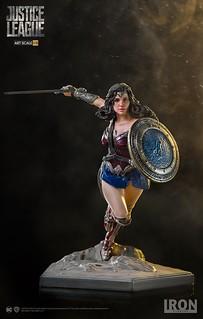 向前衝吧~女神!! Iron Studios《正義聯盟》神力女超人 Justice League Wonder Woman 1/10 比例全身雕像作品