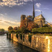 Paris N° 29 : Notre-Dame _ 4 by Roberto Defilippi