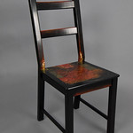 Chuck McCoy; This Chair is on Fire; Item 127 - in SITu: Art Chair Auction