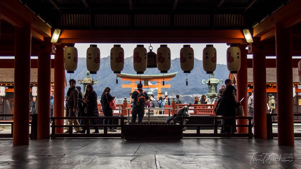 宮島 厳島神社 初詣 2017