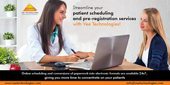 Patient Scheduling and Pre-Registration Services - Vee Technologies
