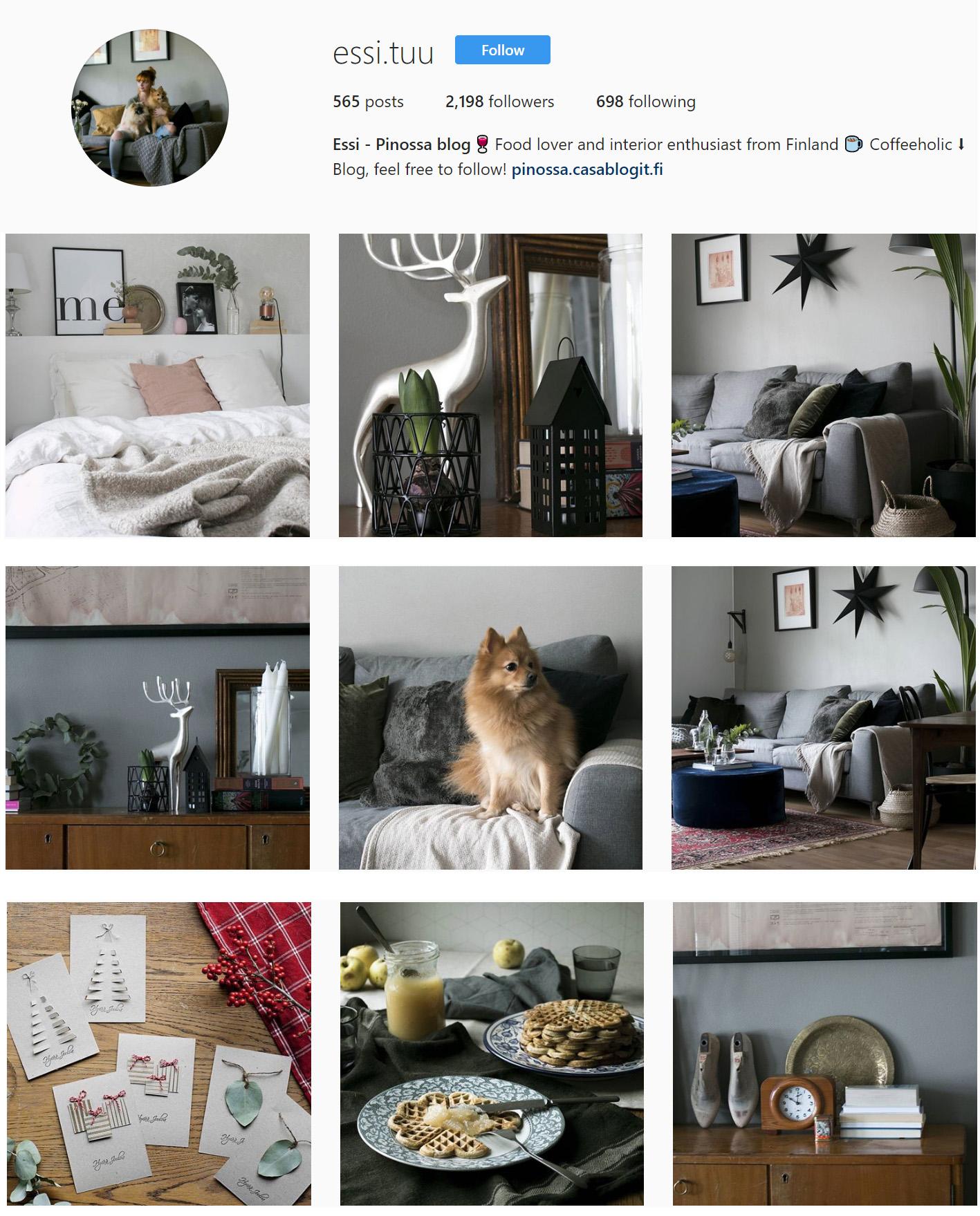 essi.tuu instagram pinossa blogi