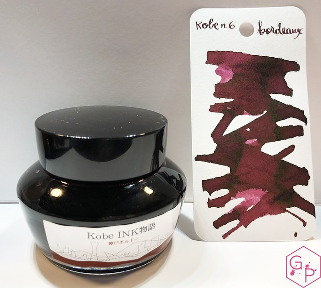 Ink Shot Review Kobe #6 Bordeaux @GoldspotPens 2