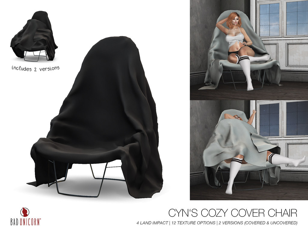 NEW! Cyns Cozy Cover Chair @ Fameshed - TeleportHub.com Live!