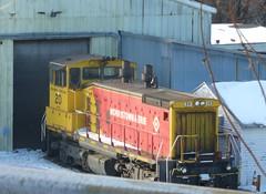 Morristown & Erie SW1500 20