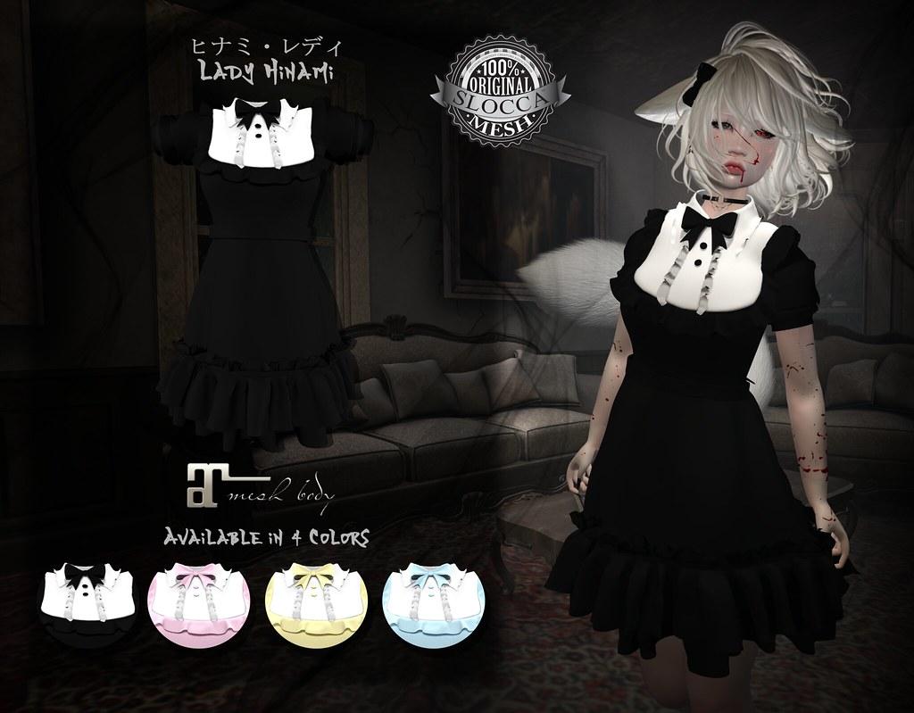 + Occult +  Lady Hinami Lolita  {Maitreya} - TeleportHub.com Live!