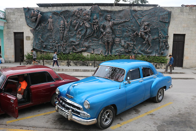 classic car in cuba holguin city