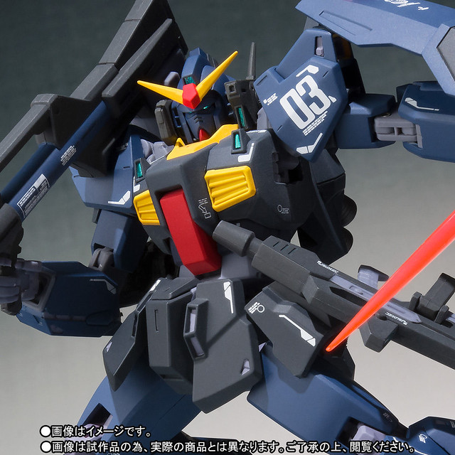 ROBOT魂 (Ka signature) 《機動戰士Z鋼彈》〈SIDE MS〉 鋼彈Mk-II  迪坦斯規格(ガンダムMk-II ティターンズ仕様)