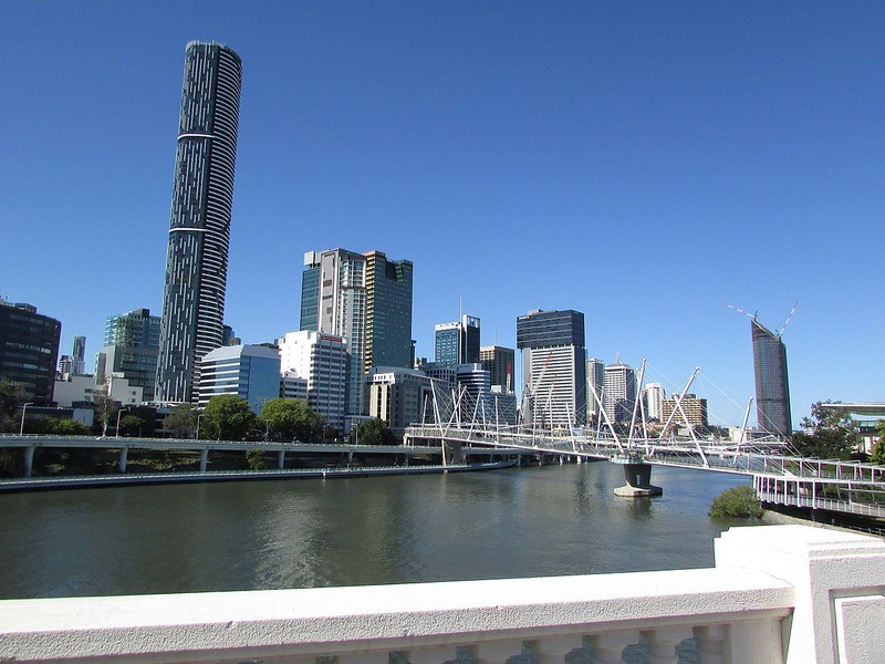 Brisbane City River South Bank