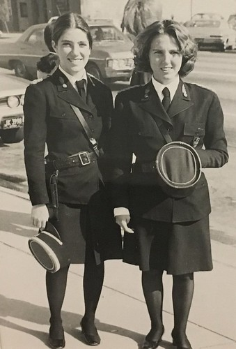 two female officers
